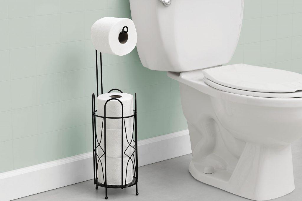 Porta Rollos Stilo Betterware - Es la mejor solución para mantener a la mano hasta tres rollos de papel higiénico. Además cuenta sirve como dispensador de papel higiénico.