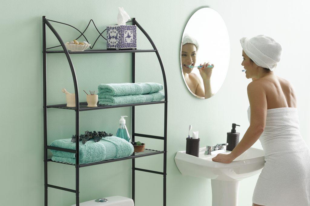 Rack para baño. Mantén tus blancos limpios y ordenados con los racks y organizadores Betterware