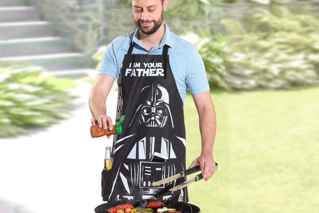 Mandil Dad Vader, ideal para regalar a papá este Día del Padre.